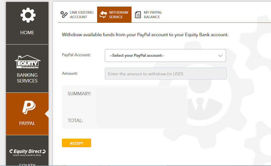 Withdraw paypal money in kenya to your bank account