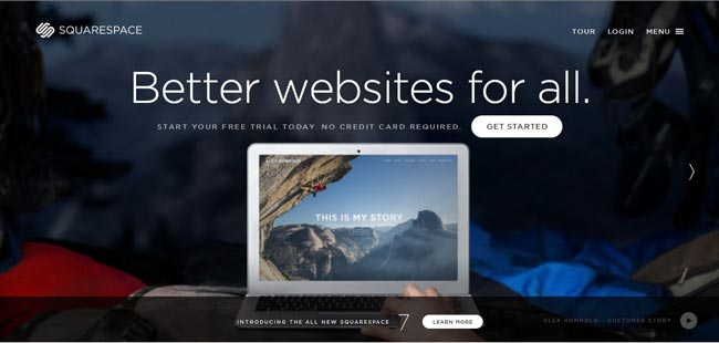 Squarespace as an option for building online Store