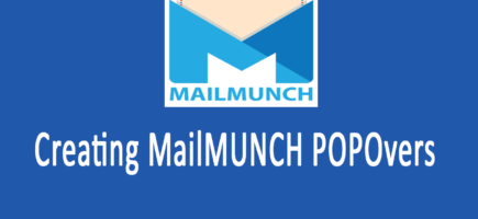 Create a MailMUNCH PopOver  / PopUp  [Recovered]