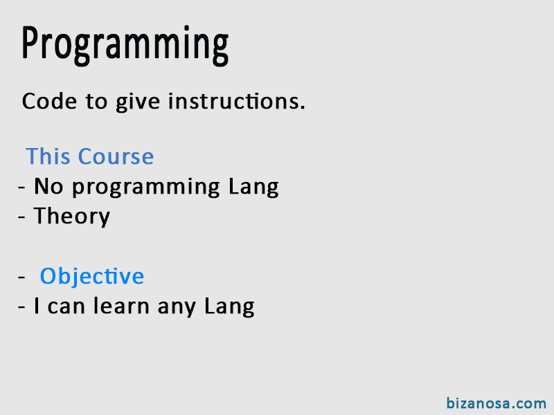 Intro to programming flashcard