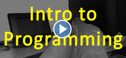 Introduction to Programming – Fast-forward