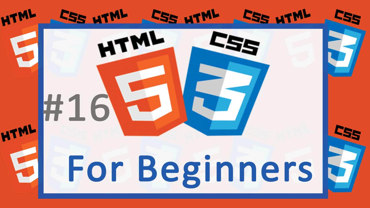 CSS Tutorial begins – HTML and CSS Tutorial for Beginners