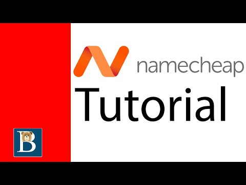 A Quick Namecheap Tutorial for new customers.