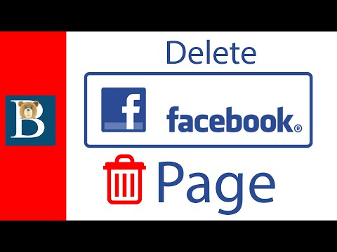 How to Delete a Facebook Page and FB Account