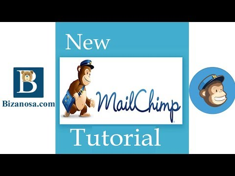 New Mailchimp Tutorial - Campaigns, Landing Pages, Popups, Embed Forms and edit CSS