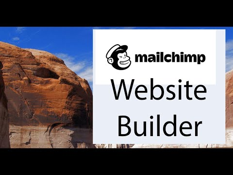 Overview of the new Mailchimp Website Builder