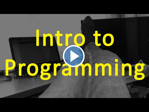 10 Variables - Intro to programming