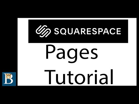Squarespace 7.1 Tutorial - Pages Tutorial