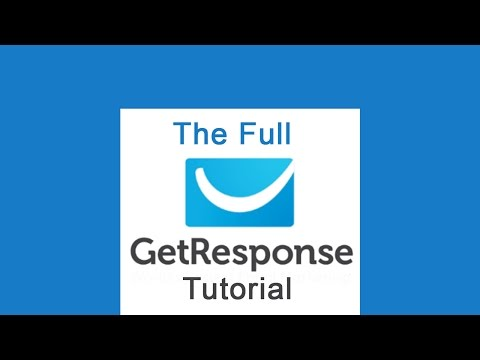 9. Create forms using the wizard in GetResponse [video]