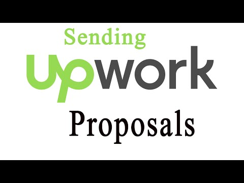 How to Apply for work on Upwork - sending proposals