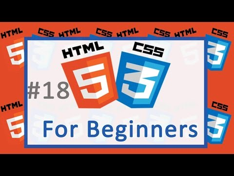 18 Parts of CSS - HTML and CSS  Tutorial for beginners