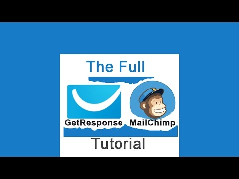 Learn both Mailchimp and GetResponse in this Video [3 Hours]