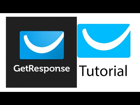 Free Getresponse Tutorial for Beginners