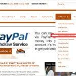 Withdraw from PayPal to Mpesa & Equity