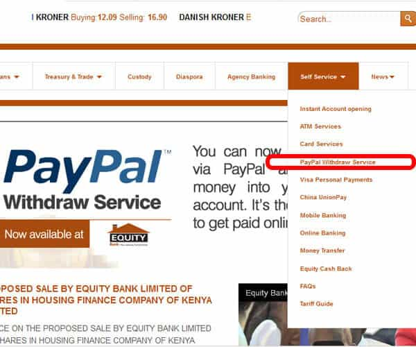 PayPal withdrawal in kenya - Withdraw PayPal