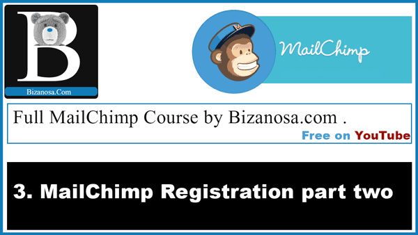 Mailchimp registration