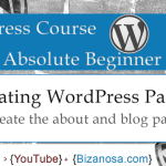 11. Intro to WordPress Pages - Create a simple page