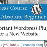 26. Important WordPress plugins for a new website