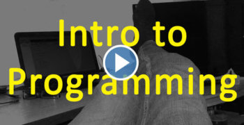 The intro to programming course [FREE]