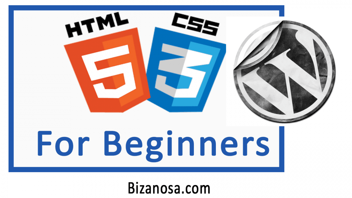Learn HTML and CSS and WOrdPress in 3 hours
