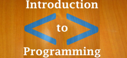 2. The Introduction to programming course