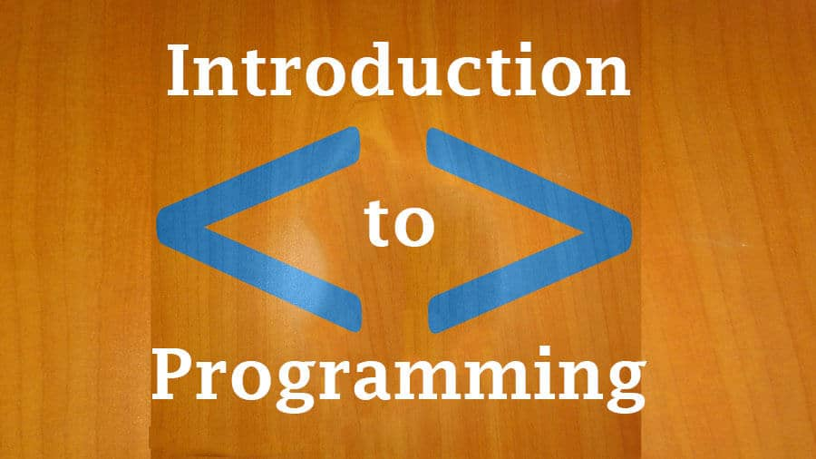 Introduction to Programming for beginners