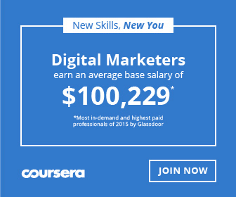 Become a Digital Marketer with Coursera