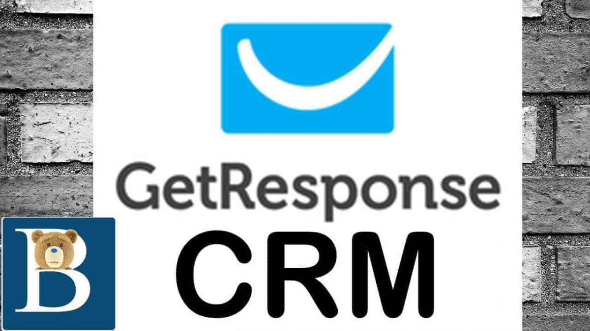 GetResponse CRM Tutorial - CRM Video Overview