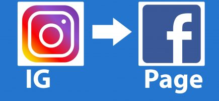 Share Instagram posts / Stories to Facebook Page