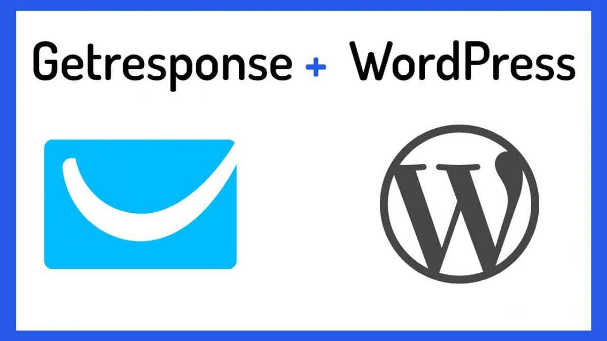 Getresponse WordPress – Embed Form on WP