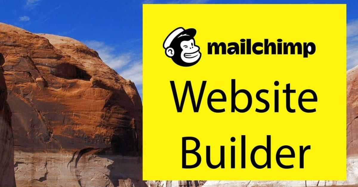 Overview of Mailchimp Website Creator