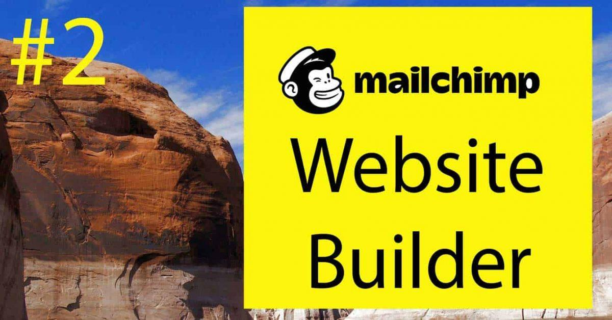 Mailchimp Website Builder Tutorial