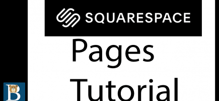 Squarespace 7.1 Tutorial – Pages Tutorial