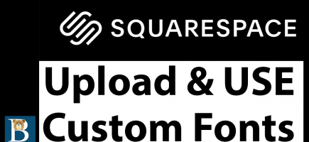 Upload and use Squarespace custom font – Custom Font CSS