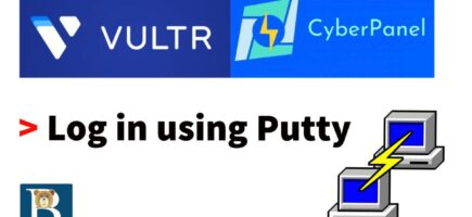 How to use Putty to log into your server
